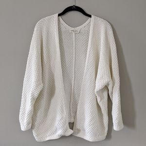Molly Green Cardigan Sweater Cream Color Size S